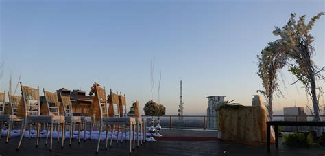 Roof top view in City Garden Grand Hotel   Hotel Weddings