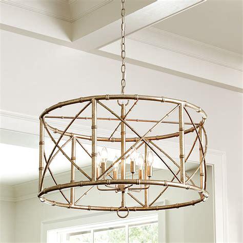 chandelier lights designs bamboo 6 light chandelier ballard designs