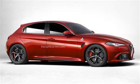 next generation alfa romeo giulietta rendering borrows a