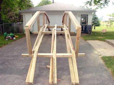 how to build a wooden bridge building wood bridge over creek diy small pergola