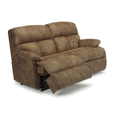 discount recliner sofas flexsteel n7098 61m triton reclining sofa with power