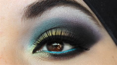 makeup by siham colorful eye makeup look