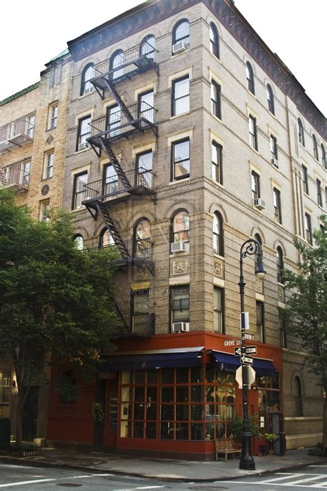 Apartment Building Used In Friends Nyc Apartment Exterior Inside Williamsburgs Highly