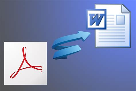 pdf to word how to convert pdf files to word format doc docx free