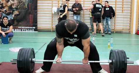 double bodyweight bench press increasing the deadlift for the collision sport athlete