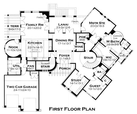 star vista floor plan featured house plan pbh 4442 professional builder