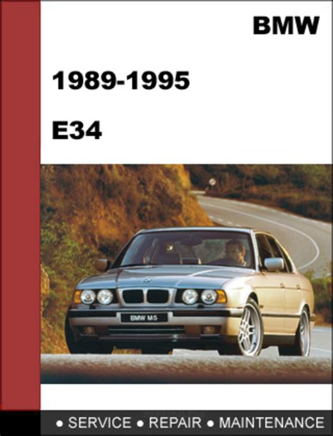 download car manuals 1995 bmw 5 series security system bmw e34 1988 1995 5 series service repair manual download downloa