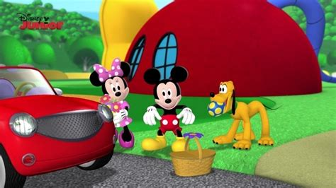 Disney Junior Mickey Mouse Clubhouse Mega Mat - picnic time mickey mouse clubhouse disney junior uk