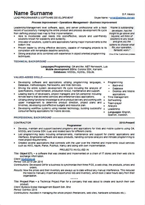 Resume Jobs Less Than A Year resume with less than 10 years of employment in a document