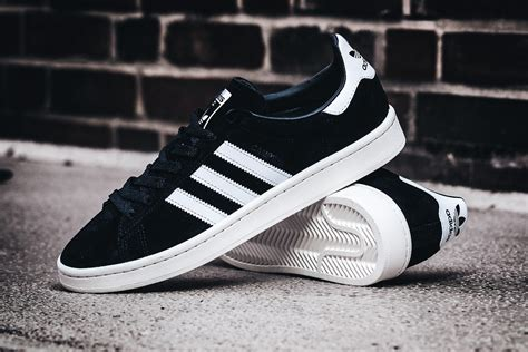 Color For Men by Adidas Campus Black White Bb0080