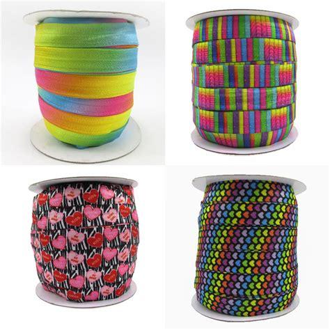 Foe 16mm Quality っ5 8 16mm rainbow color gradient ᗐ rainbow rainbow zebra ᐂ stripe stripe elastic foe