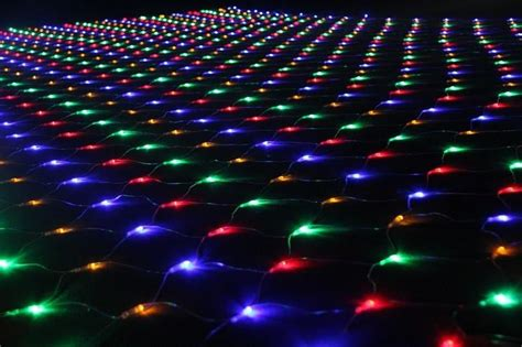 ground christmas lights 2016 new designed 240v lights led strings decorative net lights for buildings