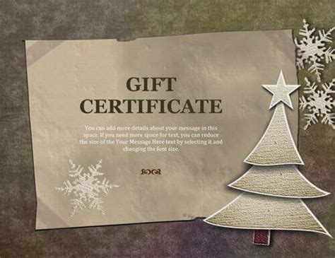 christmas certificates free new calendar template site