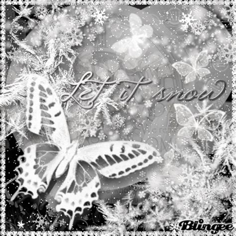 it was snowing butterflies snow butterfly picture 127030055 blingee com
