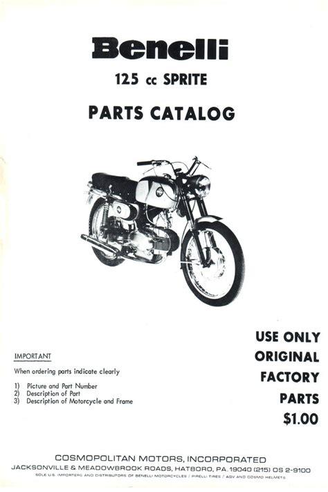 Sparepart Benelli spare parts list benelli 125cc sprite benelli bauer