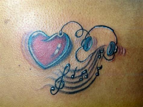 tattoo love music music tattoos love music tattoomagz