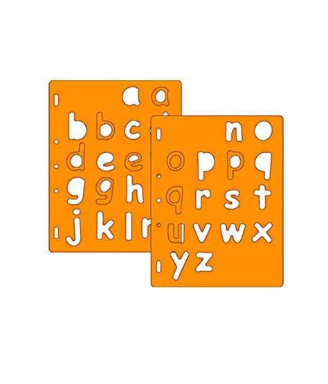 fiskars templates fiskars shape template letters 3 lowercase 4894 buy