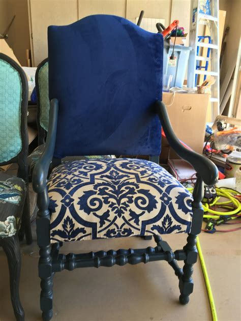 large accent chair dark blue velvet dining room chairs