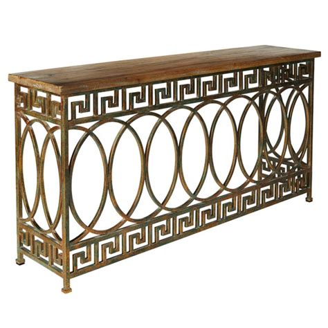 Pisces Table by Pisces Console Table Oka