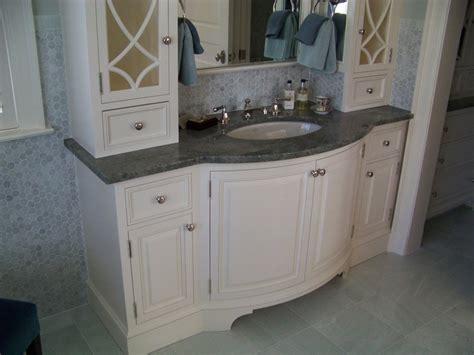Bow Front Bathroom Vanity by Painted Bow Front Vanity By Les Hastings Lumberjocks