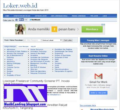 Di Lop Surat Lamaran Pekerjaan Di Luar Nya Di Tulis Apa by 5 Daftar Situs Pusat Informasi Lowongan Kerja Terbaru
