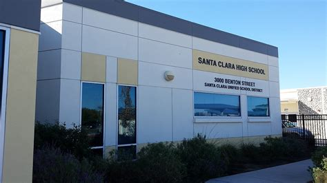 Santa Clara Business Mba Requirements by Santa Clara High School Santa Clara California