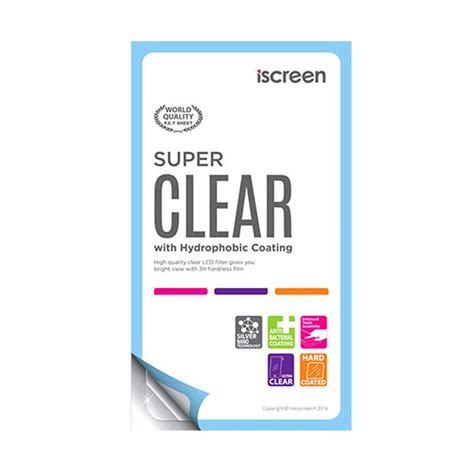 Anti Gores Clear Screen Guard Lg G2 Mini D618 jual indoscreen iscreen anti gores screen protector for lg l 80 clear harga
