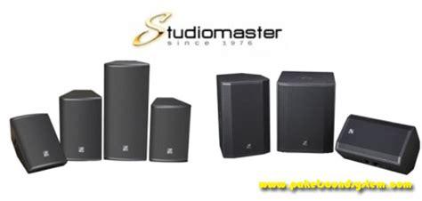 Speaker Aktif Jdl Terbaru speaker aktif studiomaster seri venture paket sound system profesional indonesia