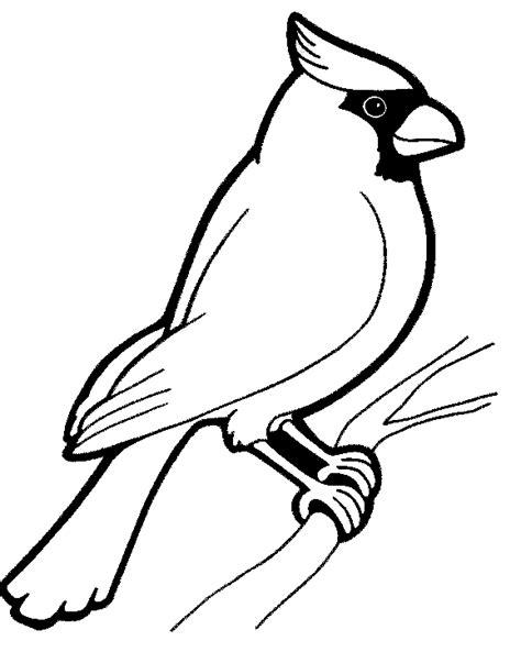 cardinal coloring pages preschool kleurplatenwereld nl gratis dieren kleurplaten