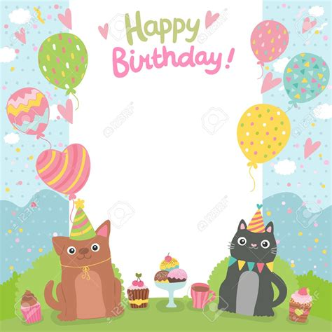 Happy Birthday Card Template Regarding Happy Birthday Card Template Card Design Ideas Birthday Card Template