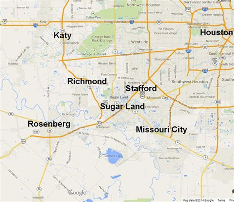 sugar land texas map sugar land homes for sale