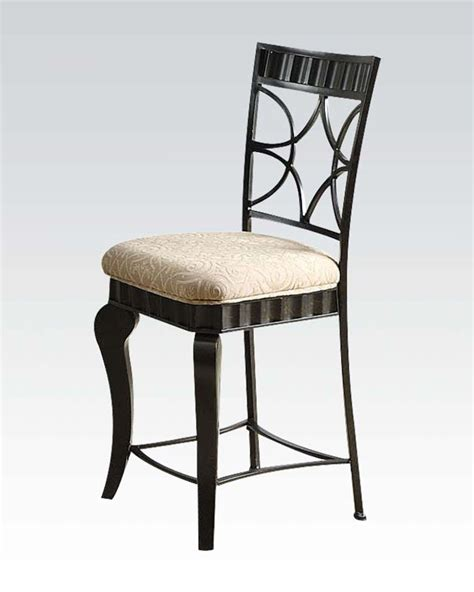 counter height chair lorencia by acme furniture ac18296