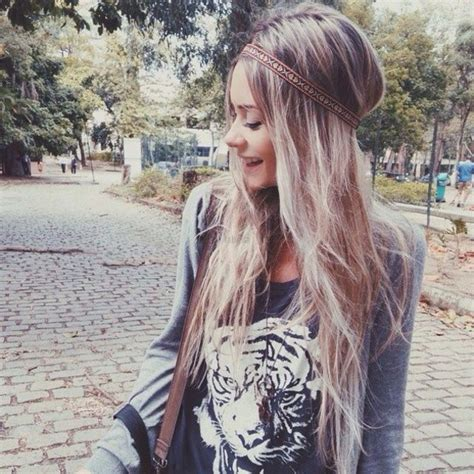 grey blonde and brown hairstyles shirt style t shirt blouse tiger print black t shirt