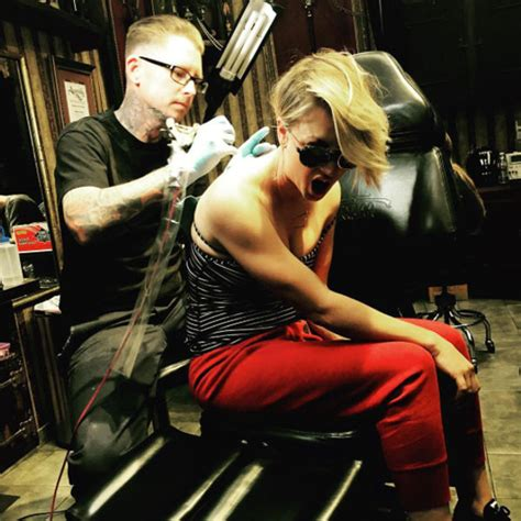 kaley cuoco tattoos regret actress makes alters wedding