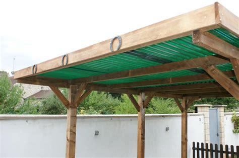 2 Car Garage Plans bois autoclave et toit plat le carport qui porte chance