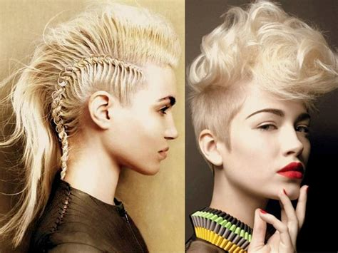 hair pieces to wear with fo hawk hairstyle mohawk hairstyles for women yve style com