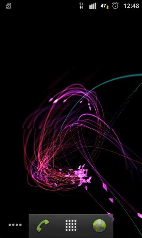 3d live wallpaper for android mobile free 3d fireflies live wallpaper for android