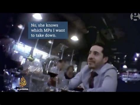 take you down mp hidden camera israeli diplomat plotting to take down uk