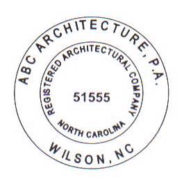 gogetstamps com north carolina architect company stamps