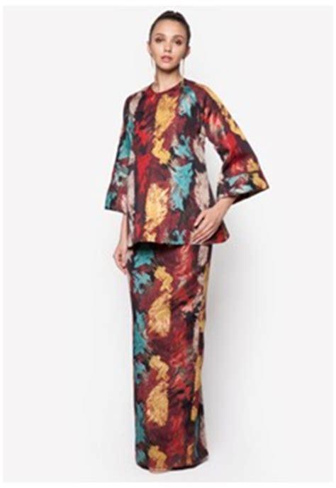 baju kurung moden yang loose peach cobbler fesyen baju kurung pahang terkini