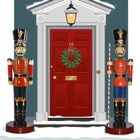 life size nutcracker outdoor christmas decorations
