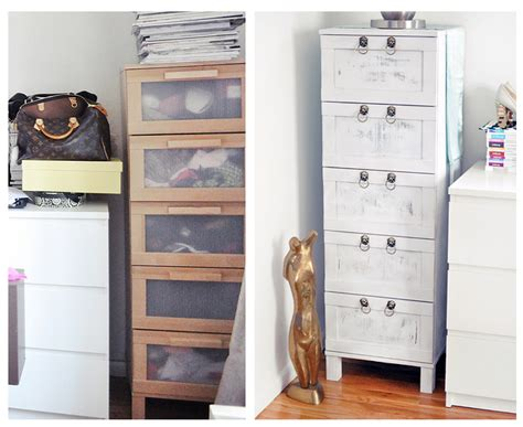 ikea makeover boring birch ikea chest of drawers makeover from drab to