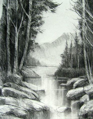 imagenes para dibujar a lapiz pdf 10 dibujos a l 225 piz de paisajes 4 dibujo pinterest