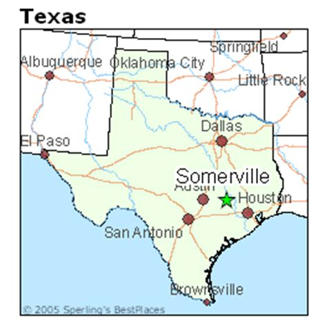 somerville texas map best places to live in somerville texas