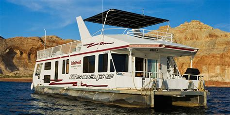 house boat pictures luxury houseboat rentals at lake powell resorts marinas