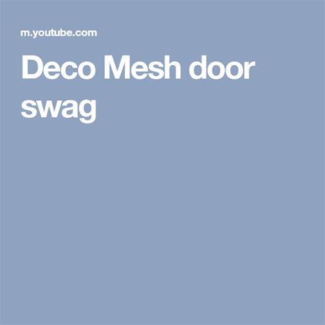 deco mesh door swag door swag    wreaths deco