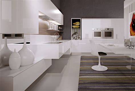cucine moderne bianche e nere cucine bianche moderne cose di casa