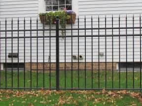 Home Depot Decorative Fence by Decorative Aluminum Fence Designs
