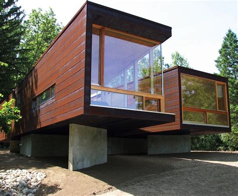 modular home beach cottage modern modular home koby cottage is a prototype prefab home
