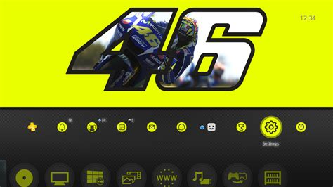 ps4 personal themes valentino rossi the game valentino rossi theme 1 on ps4